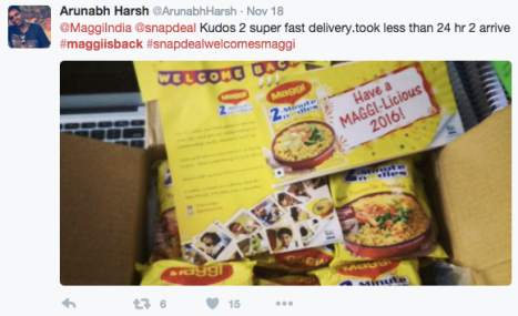 maggi back_ebusiness india