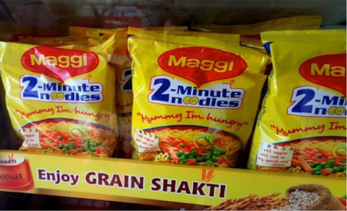 maggi is back -ebusiness india