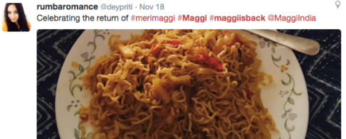 maggi snapdeal_ebusines india