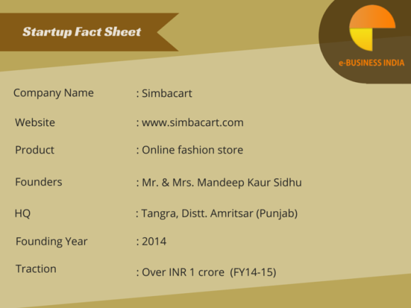 Startup Fact sheet