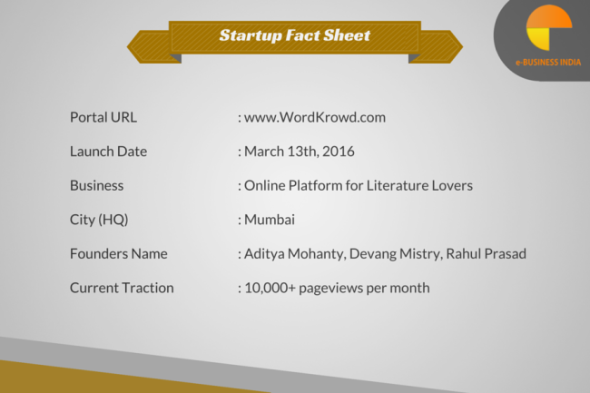 WordKrowd Startup Fact Sheet_ ebusiness India