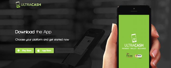 Ultra Cash Ewallet App