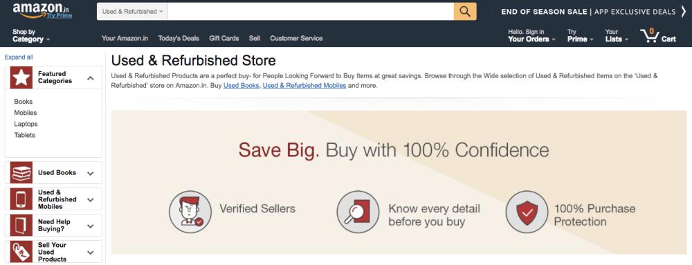 amazon-india-used-product-store