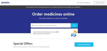 Online Pharmacy, E-Pharmacy, Online Medical Store India