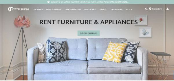 Rent Furniture Online